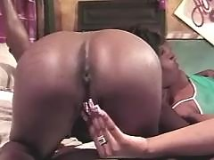 Insatiable balck girls fuck non stop